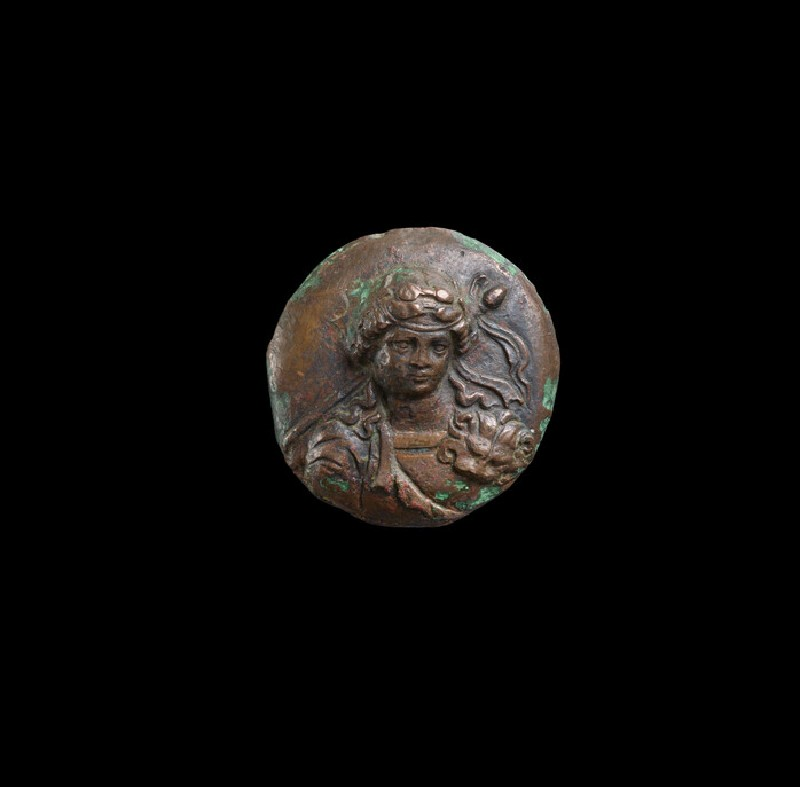 Roundel with bust of Dionysus
