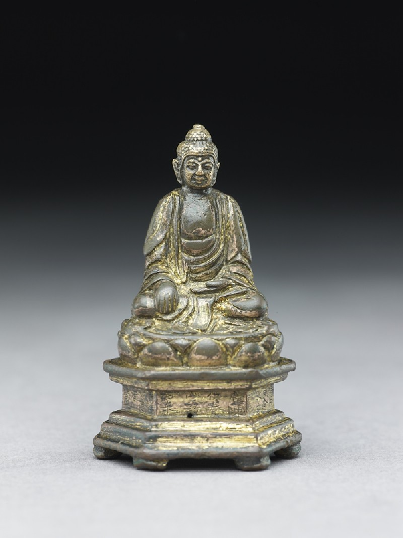 Seated Buddhist figure