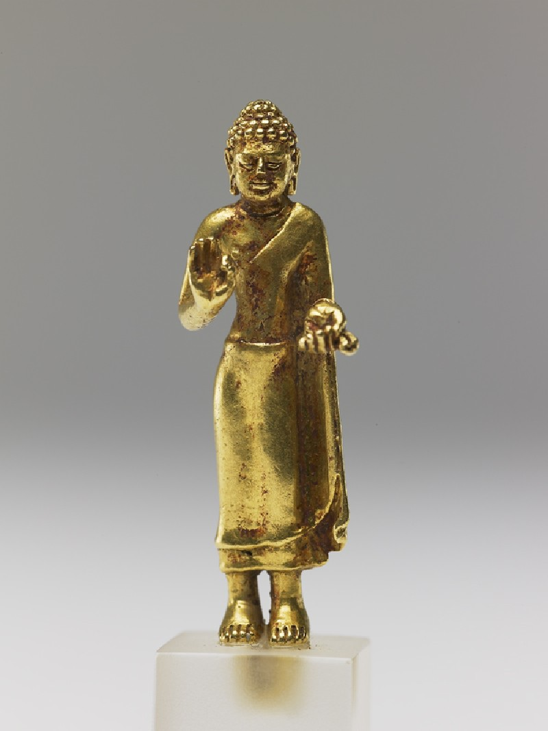 Figure of the Buddha (EA1999.94, front           )