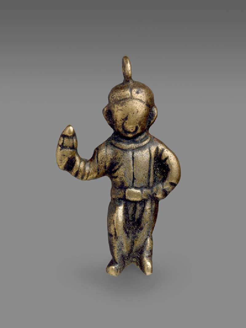 Anthropomorphic pendant (EA2000.105, front            )