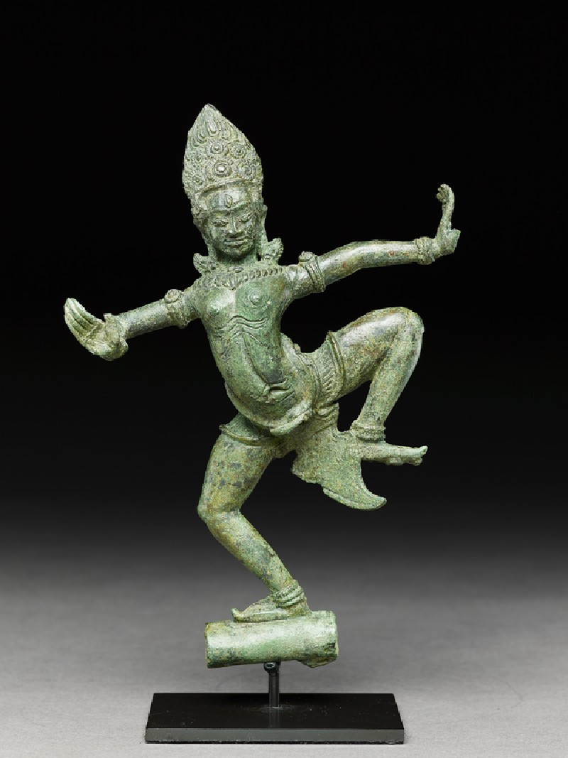 Dancing apsara, or celestial beauty (EA2000.33, front           )