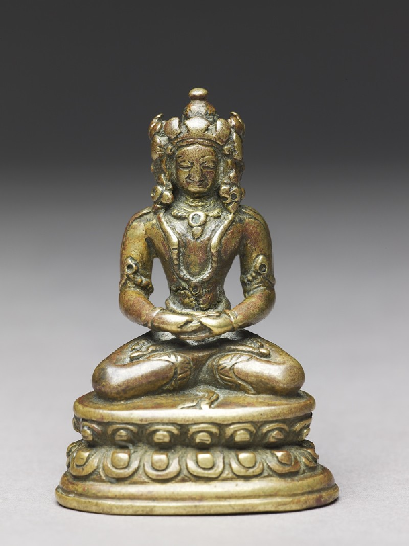 Seated figure of the Vairocana Buddha