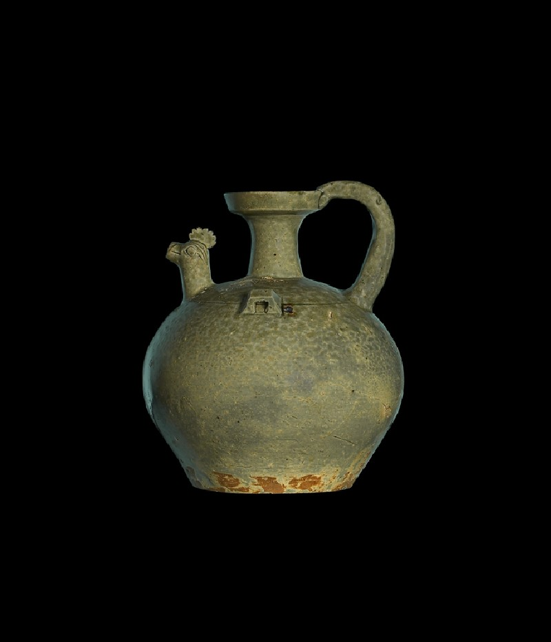 Ewer with chicken head spout (EA2000.68, side           )