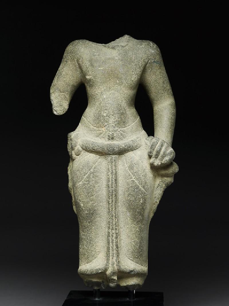 Torso of Vishnu (EA2001.15, front           )
