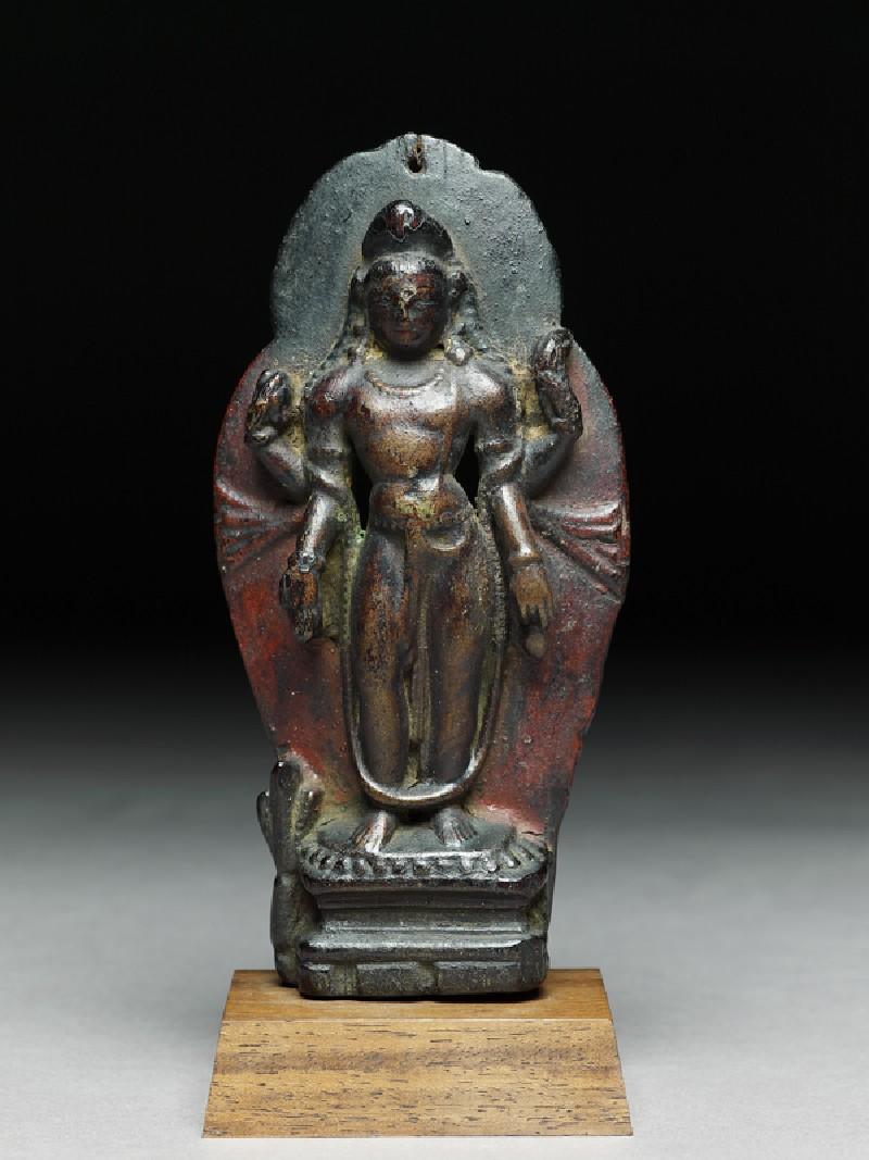 Figure of Maitreya, the future Buddha (EA2002.178, front            )
