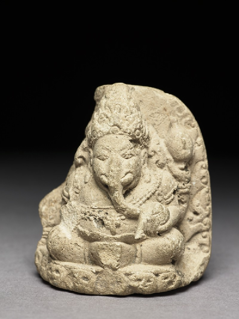 Seated figure of Ganesha (EA2002.49, front           )