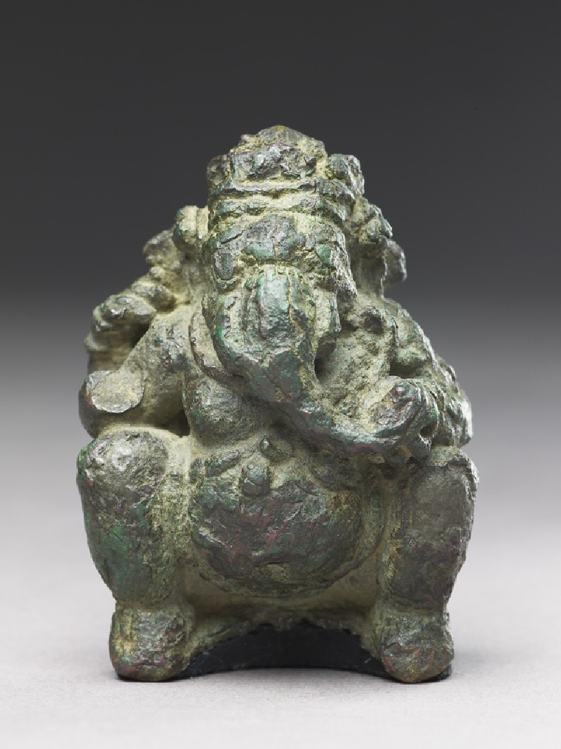 Seated figure of Ganesha (front           )