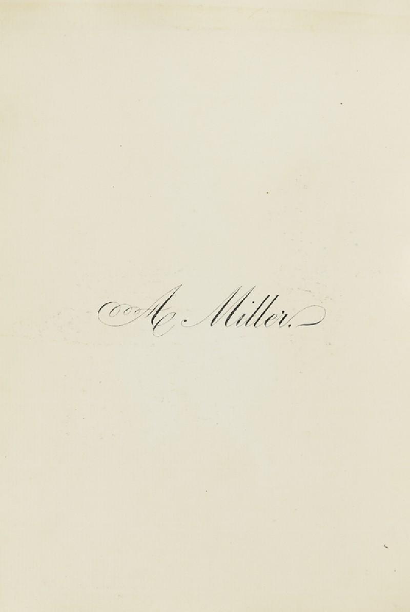 A Miller (EA2003.4.118, front              )