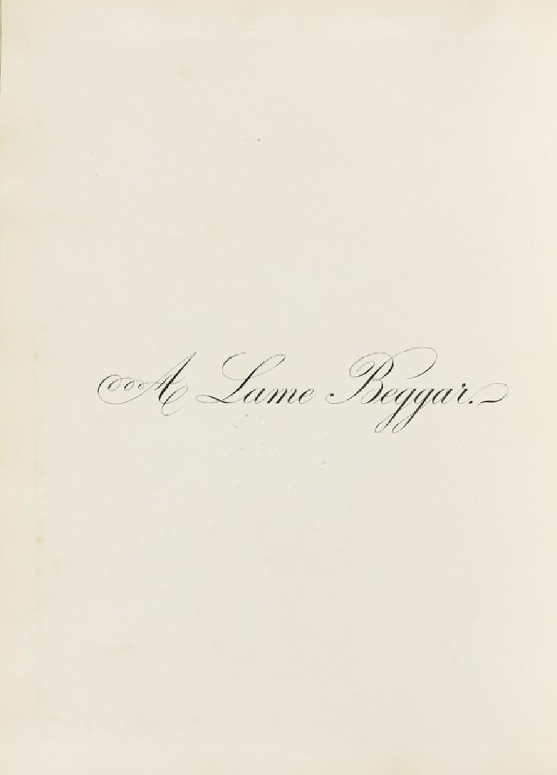 A Lame Beggar (EA2003.4.146, front              )