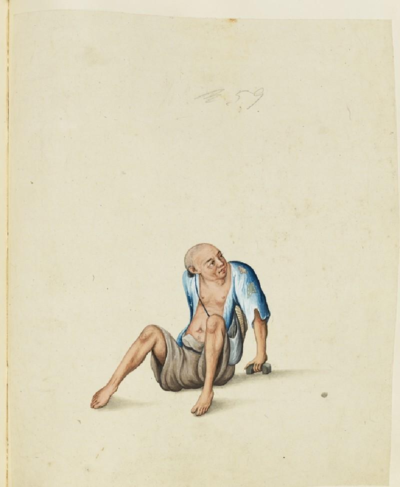 A Lame Beggar (EA2003.4.147, front              )