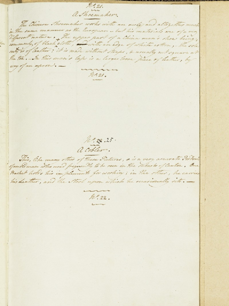 Description of A Shoemaker and A Cobbler