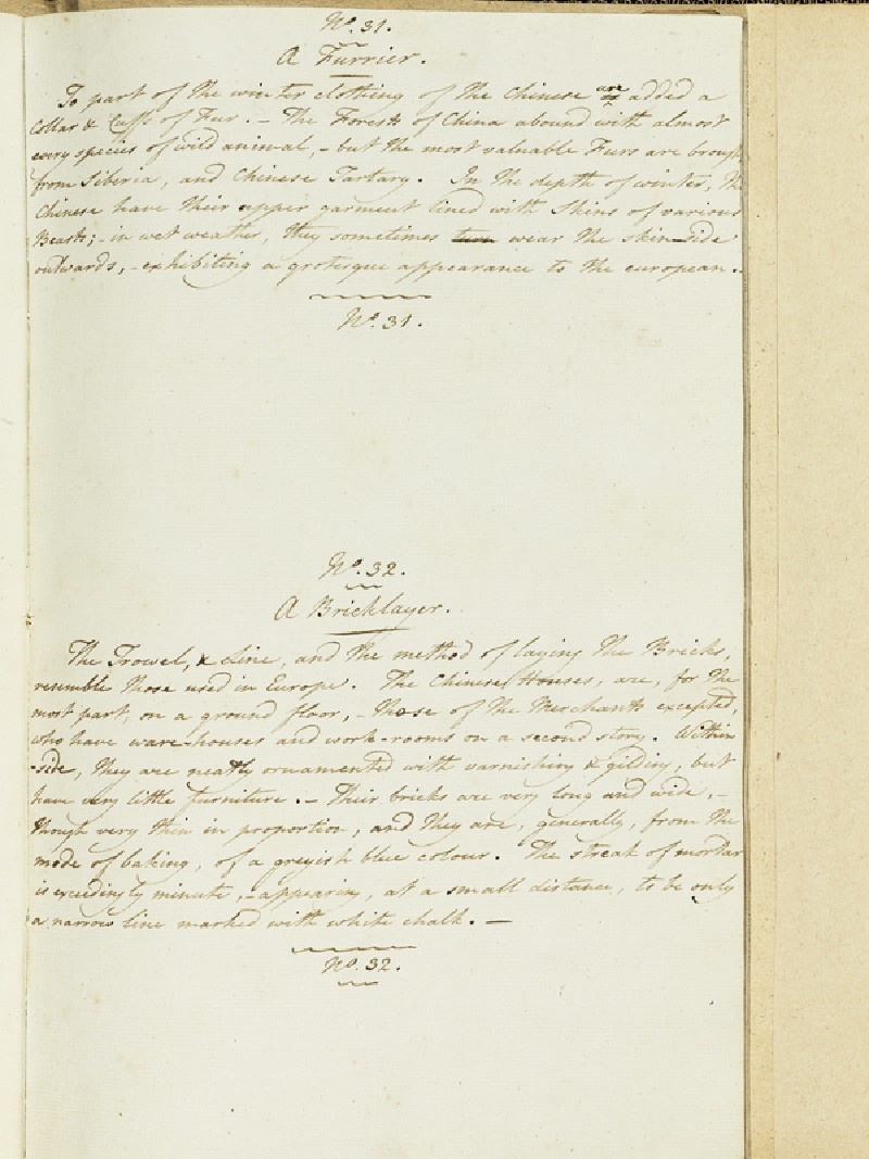 Description of A Furrier and A Bricklayer (EA2003.4.213, front              )