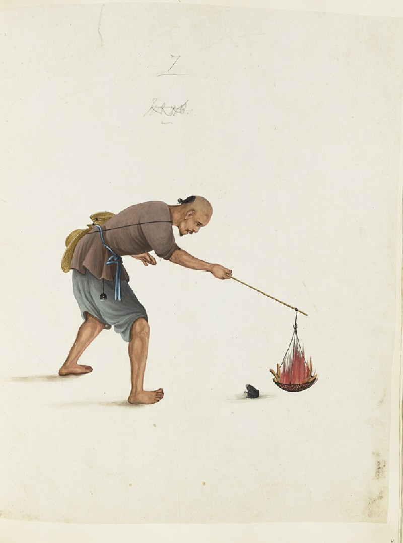 A Frog-Catcher (front             )