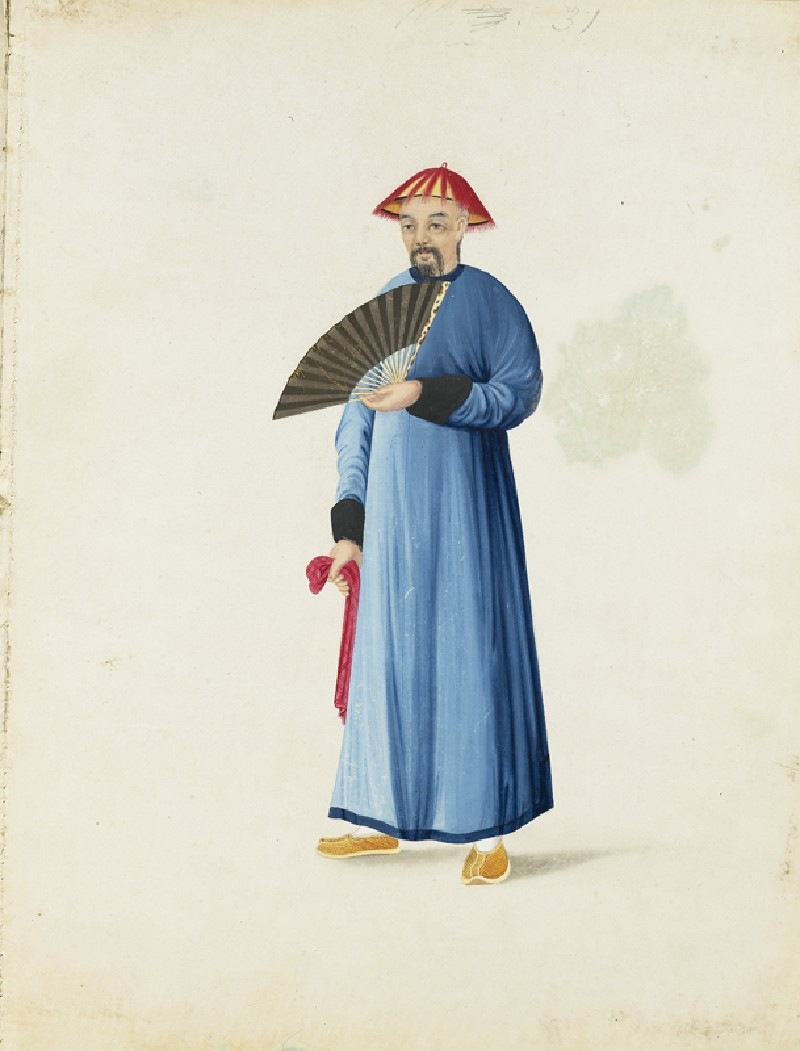 A Mandarin in His Summer Dress