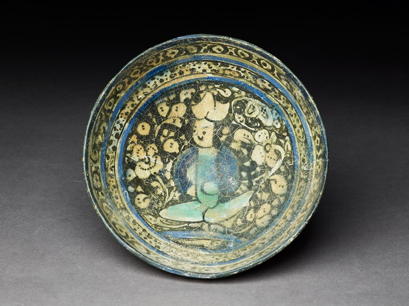 Bowl with seated figure (EA2005.29, top           )