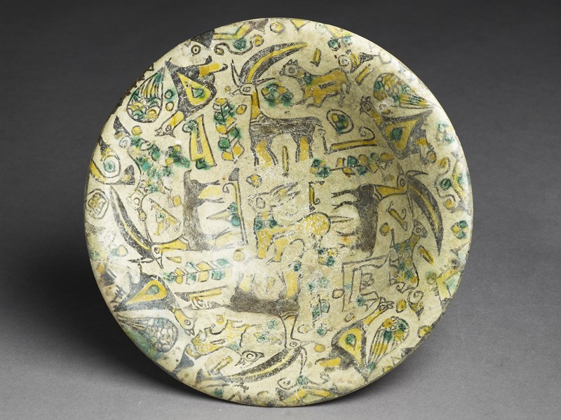 Bowl with animals and plants (EA2005.42, top           )