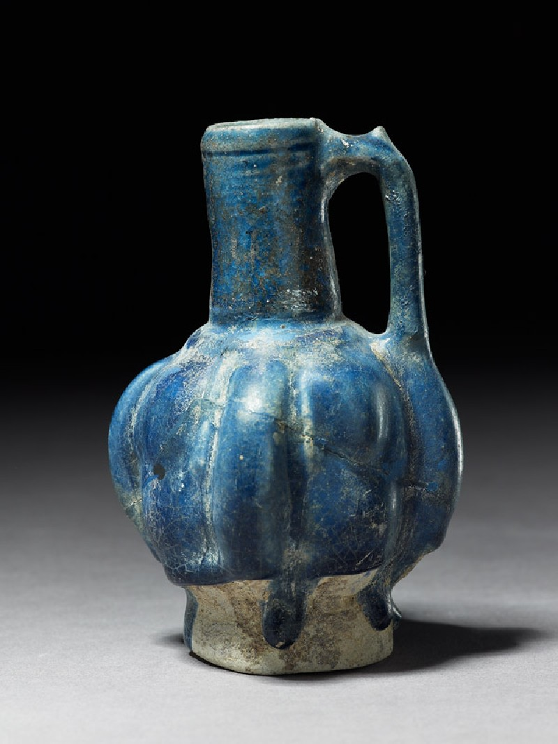 Jug with fluted body