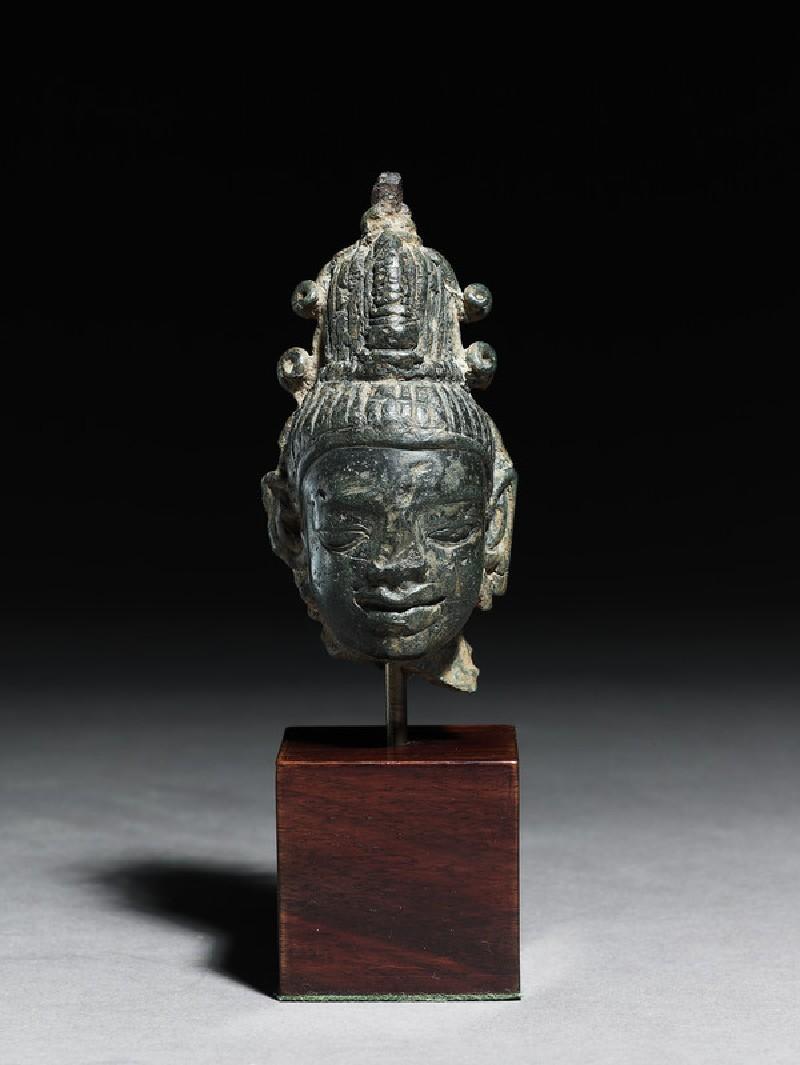 Head of Maitreya Buddha (EA2006.20, front           )