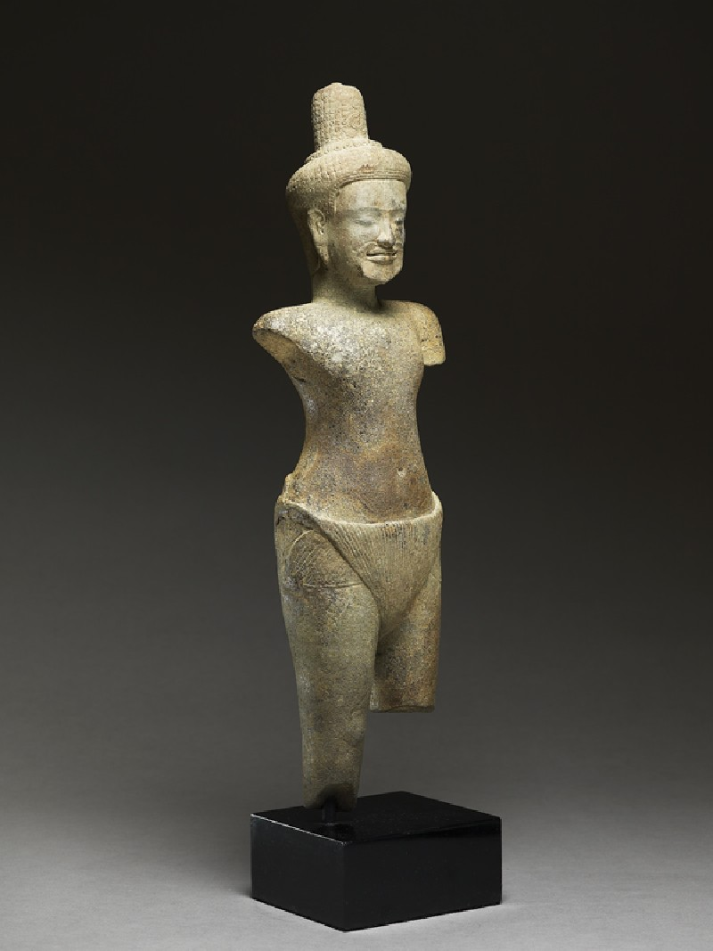 Standing figure of a rishi, or holy man (EA2007.105, side            )