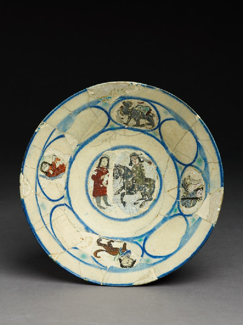 Bowl with two figures (EA2008.13, top           )