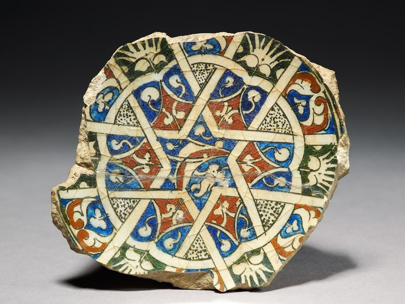 Base fragment of a bowl with star (EA2008.26, top           )