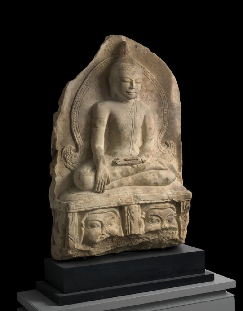 Seated figure of the Buddha (EA2008.70)