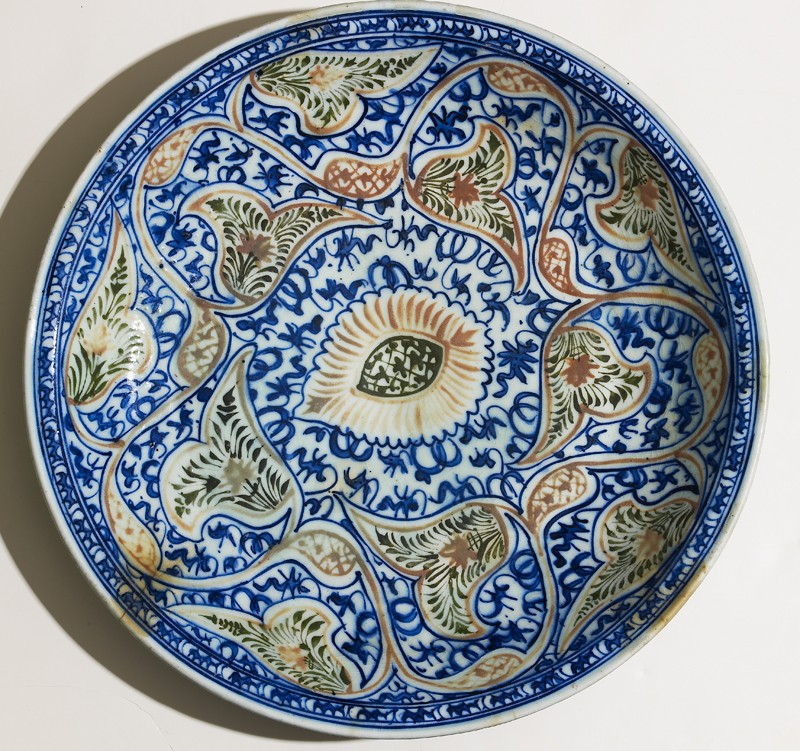 Dish with vegetal decoration (EA2012.136, top            )