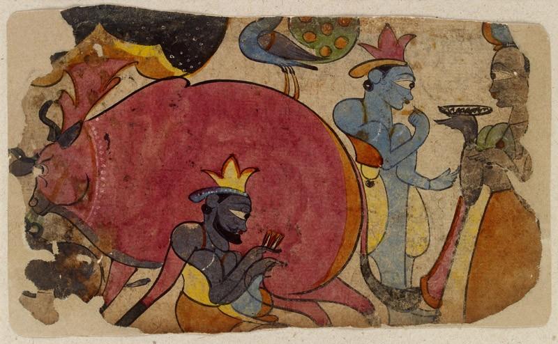 A Krishna tale (EA2012.236, front            )