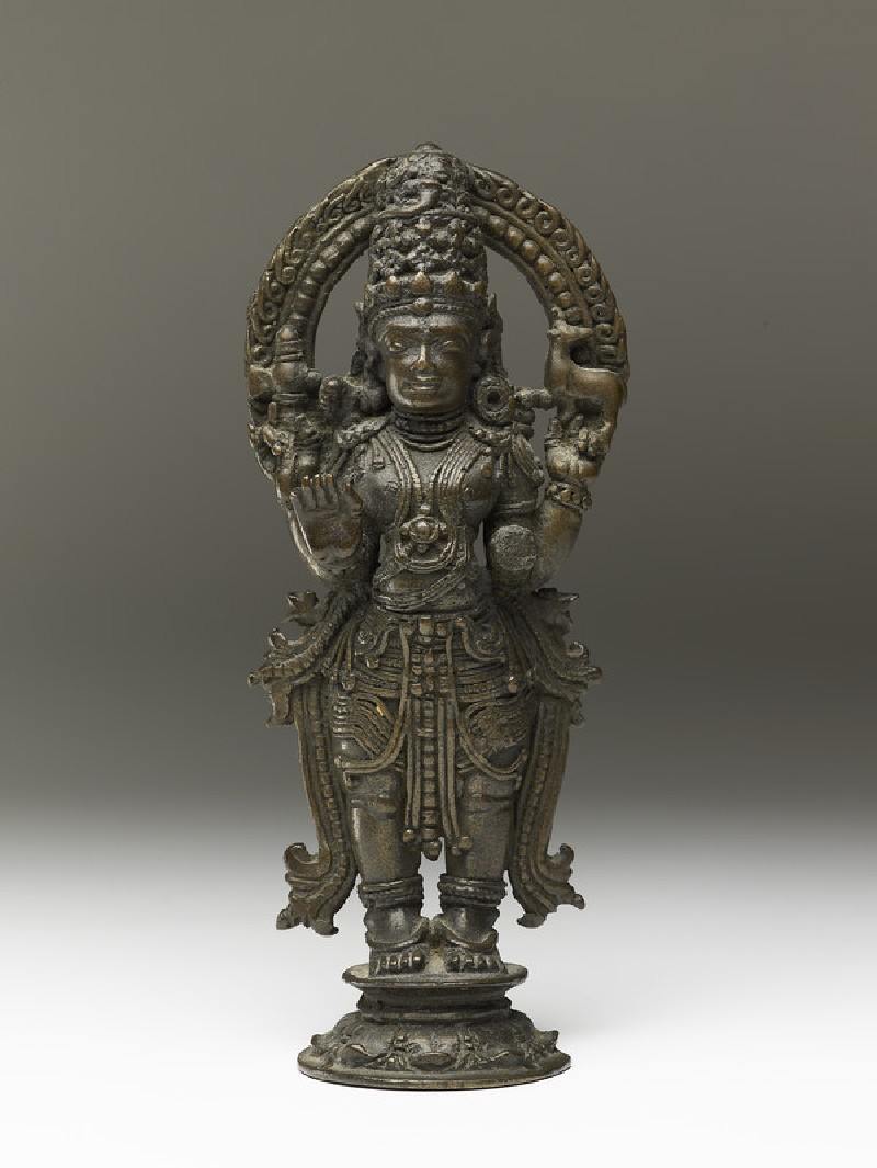 Standing figure of Shiva (EA2013.103, front            )