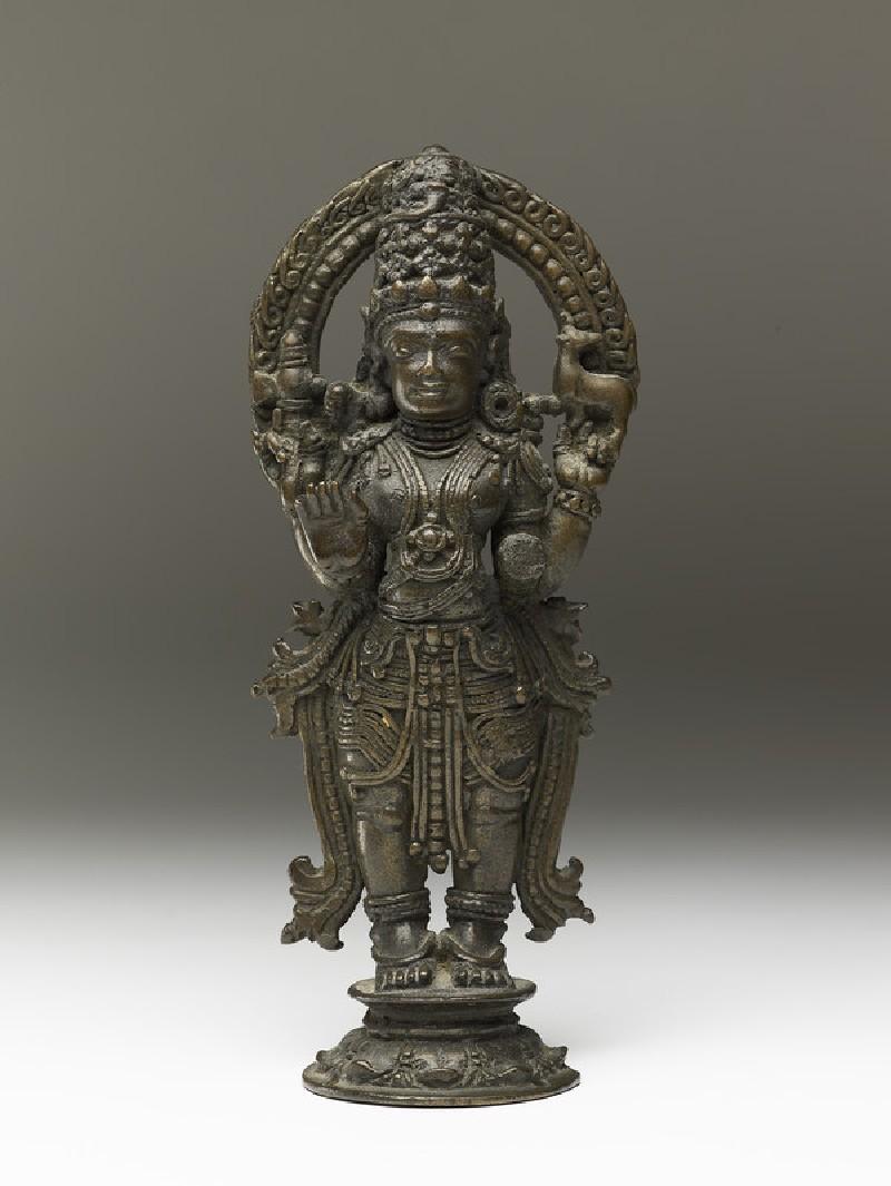 Standing figure of Shiva (front            )