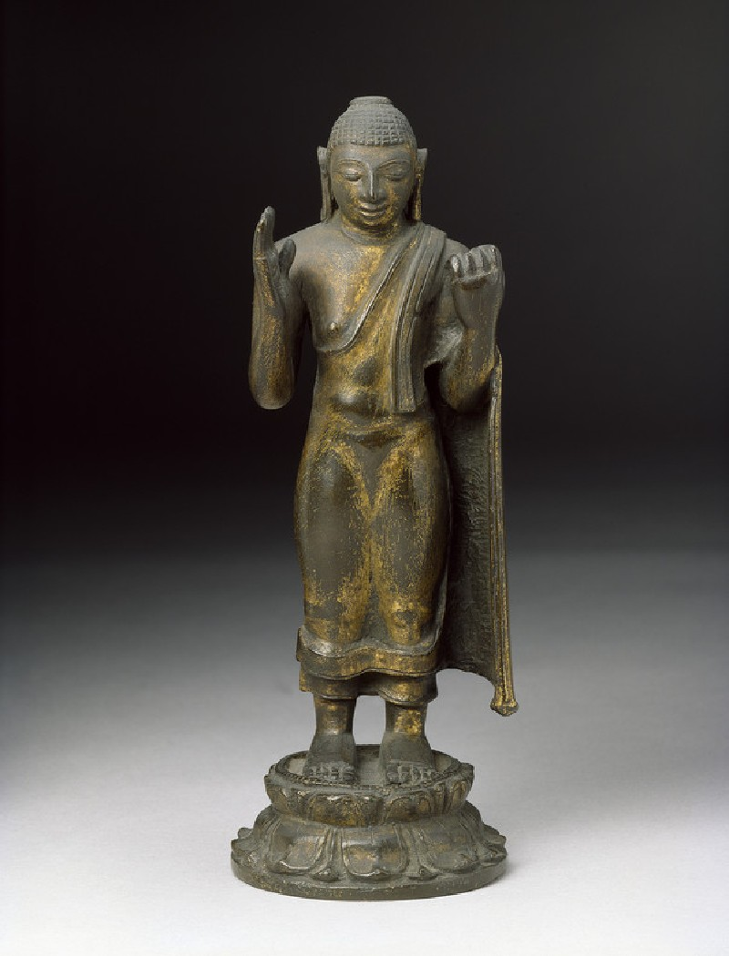 Standing figure of the Buddha (EA2013.42, front           )