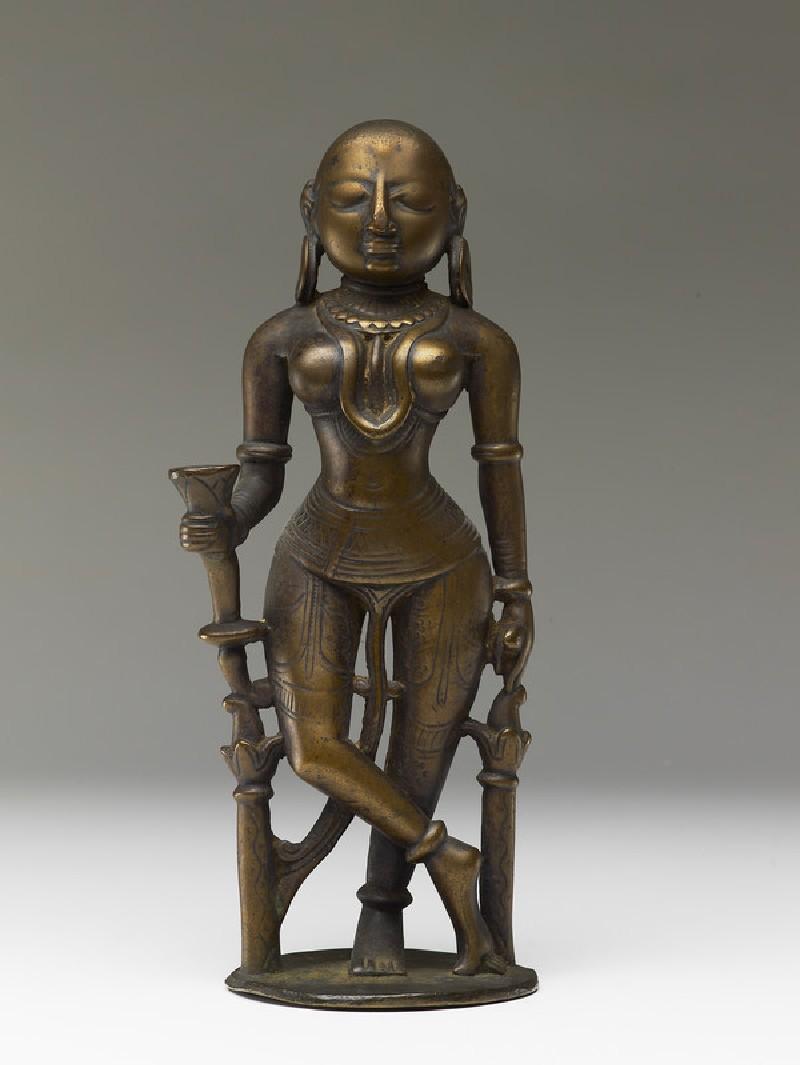 Female attendant figure