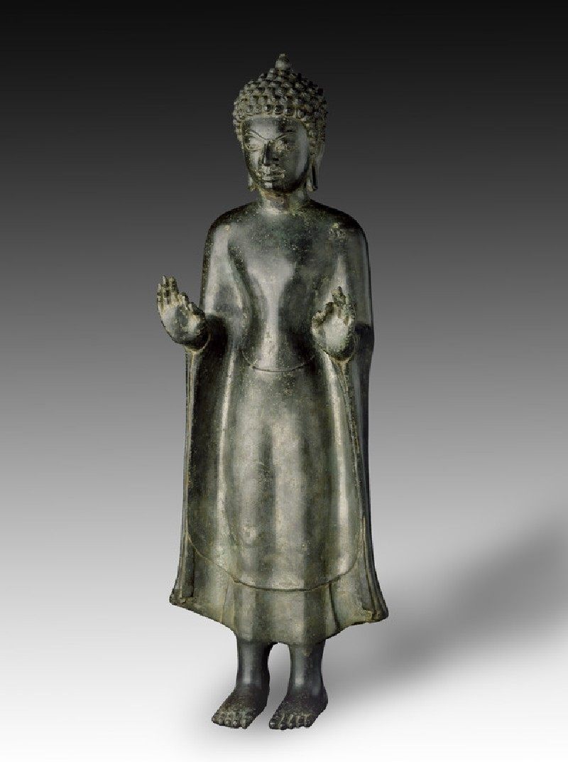 Standing figure of the Buddha (EA2013.59, side           )