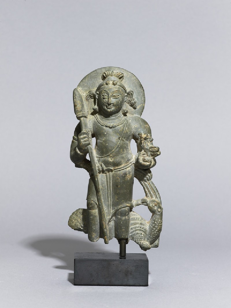 Figure of the war god Skanda (EA2013.64, front           )