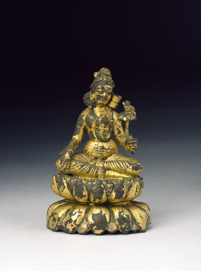 Seated figure of Tara (front           )