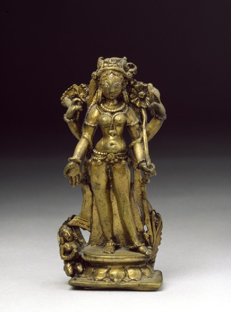 Figure of Tara, goddess of protection (EA2013.67, front           )