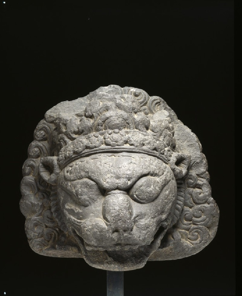 Head of Narasimha Avatar (front           )