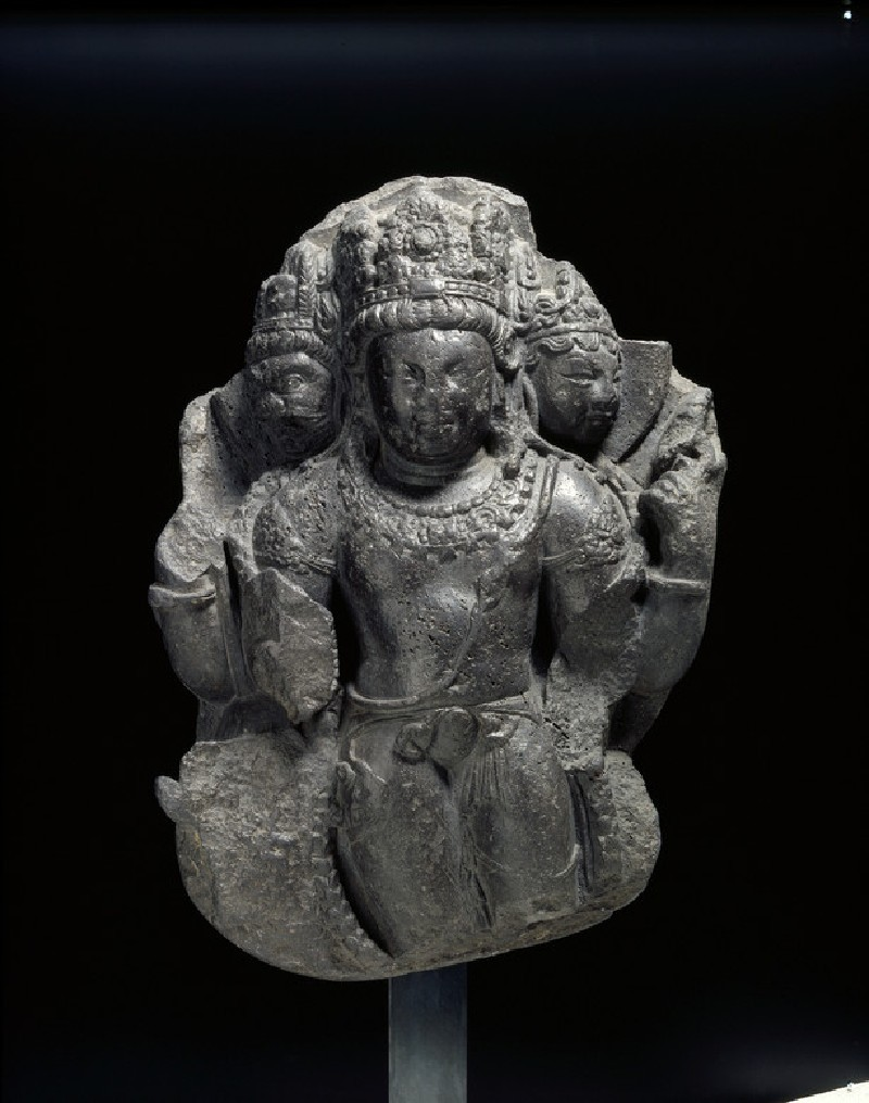 Figure of Shiva the Great Lord (EA2013.69, front           )