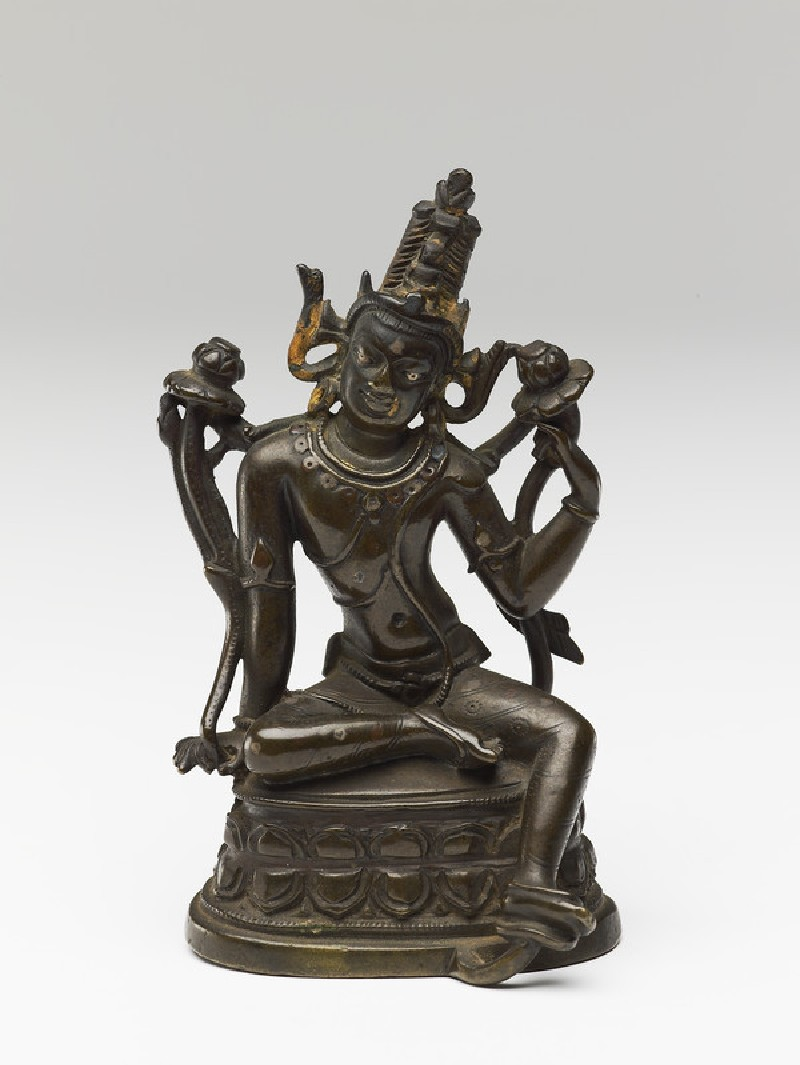 Seated figure of Padmapani (EA2013.71, front           )