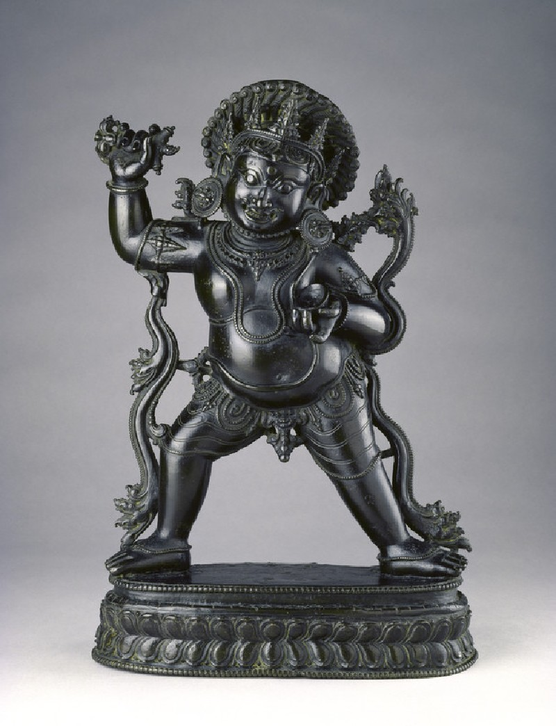 Standing figure of Bhairava