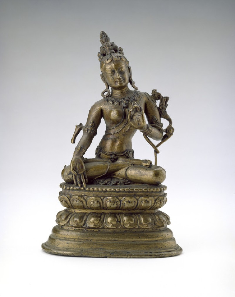 Seated figure of Tara (EA2013.76, front           )