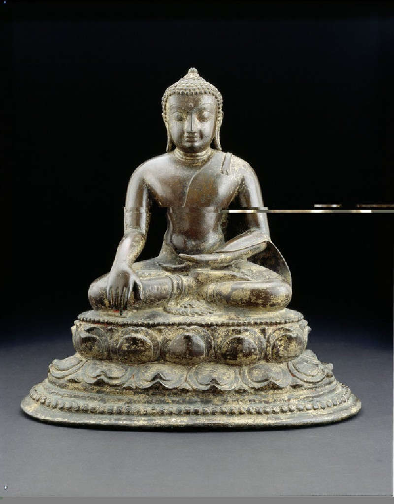 Seated figure of the Buddha