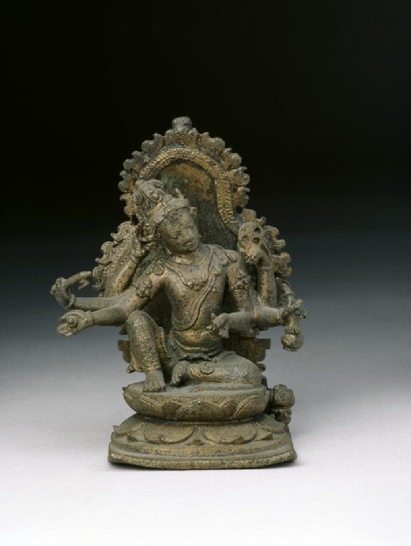 Figure of six-armed Avalokiteshvara