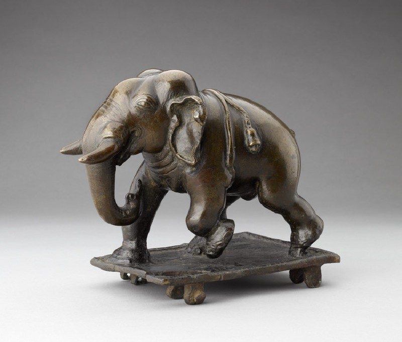 Toy elephant (EA2013.81, side           )