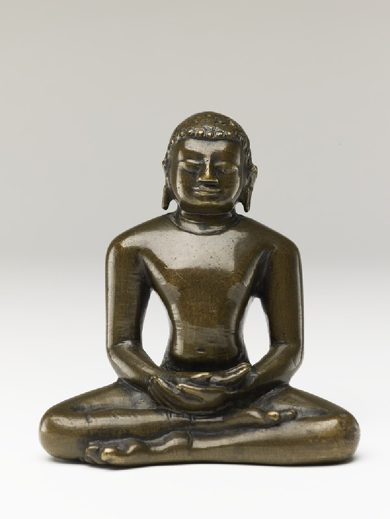 Figure of a Tirthankara, or Jain saviour (EA2013.84, front           )
