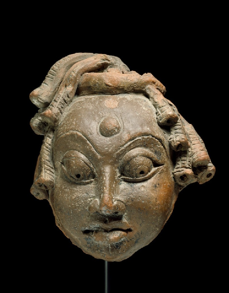 Head of Shiva as an ascetic (EA2013.88, front           )