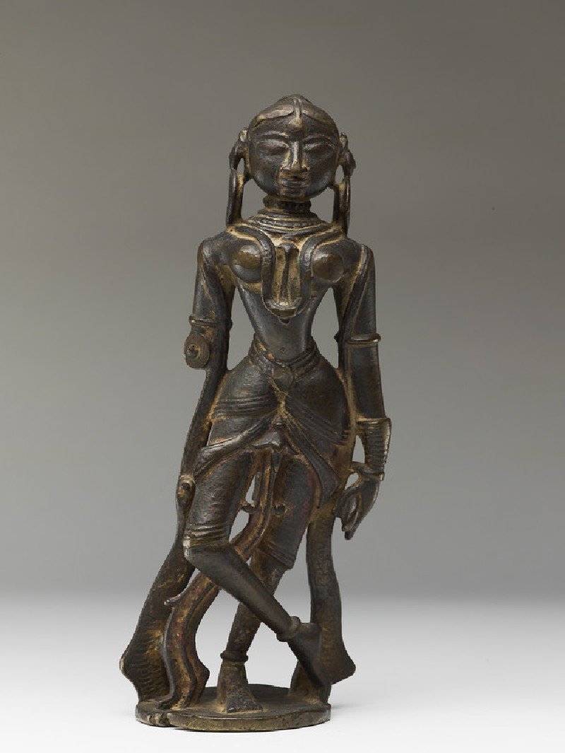 Female attendant figure (EA2013.95, front           )