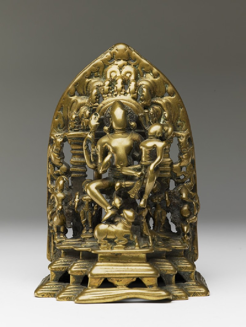 Figure of Shiva and Parvati (Uma-Maheshvara) (EA2013.96, front           )