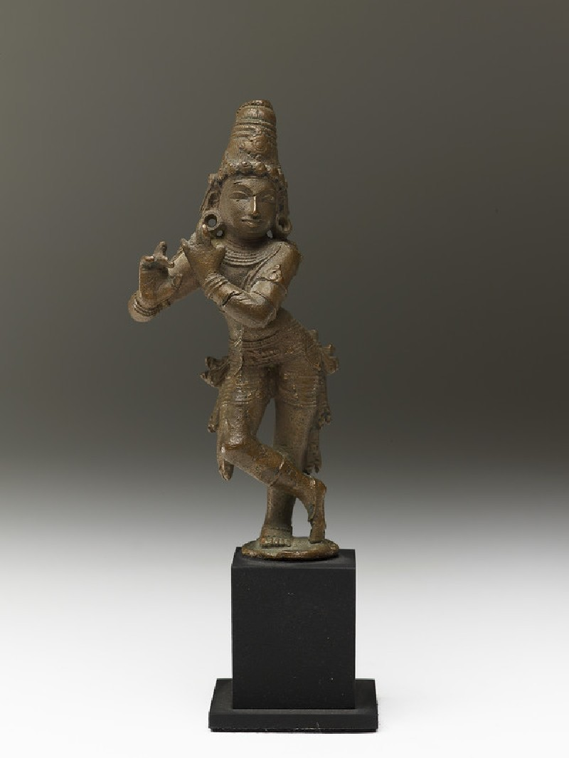 Figure of Krishna Venugopala, the Flute-playing Cowherd (EA2013.99, front           )