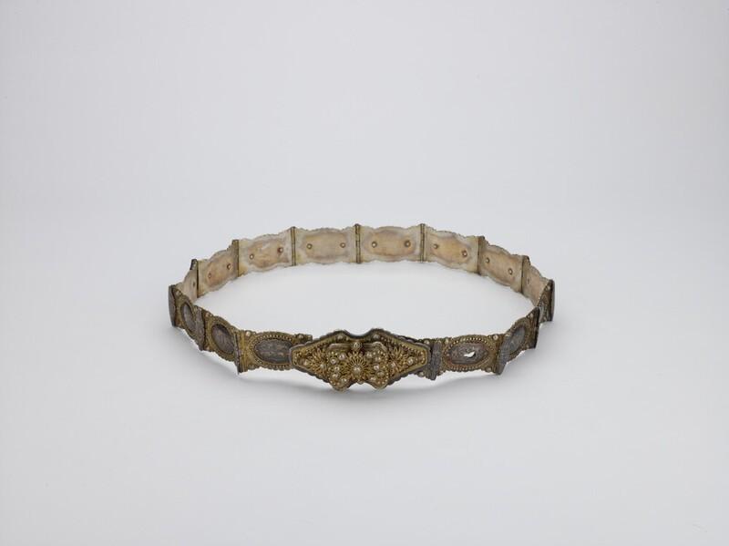 Lady's belt made by an Armenian master jeweller (EA2016.22)